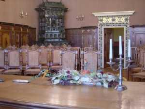 Trauung im historischen Ratssaal von Oschatz